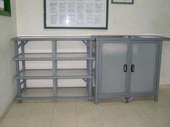 Gabinetes para ba o aluminio for Armado de gabinetes de cocina