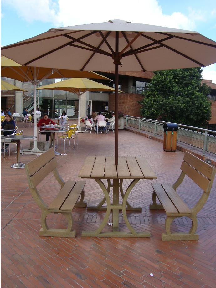 Mesas de exterior baratas dise os arquitect nicos - Casetas exterior baratas ...