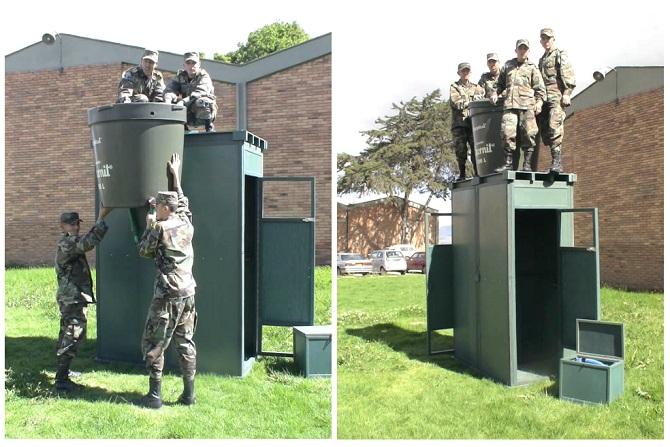 Inodoro Para Baño Seco:lavado para tropas retrete escusado para soldados letrina taza inodoro
