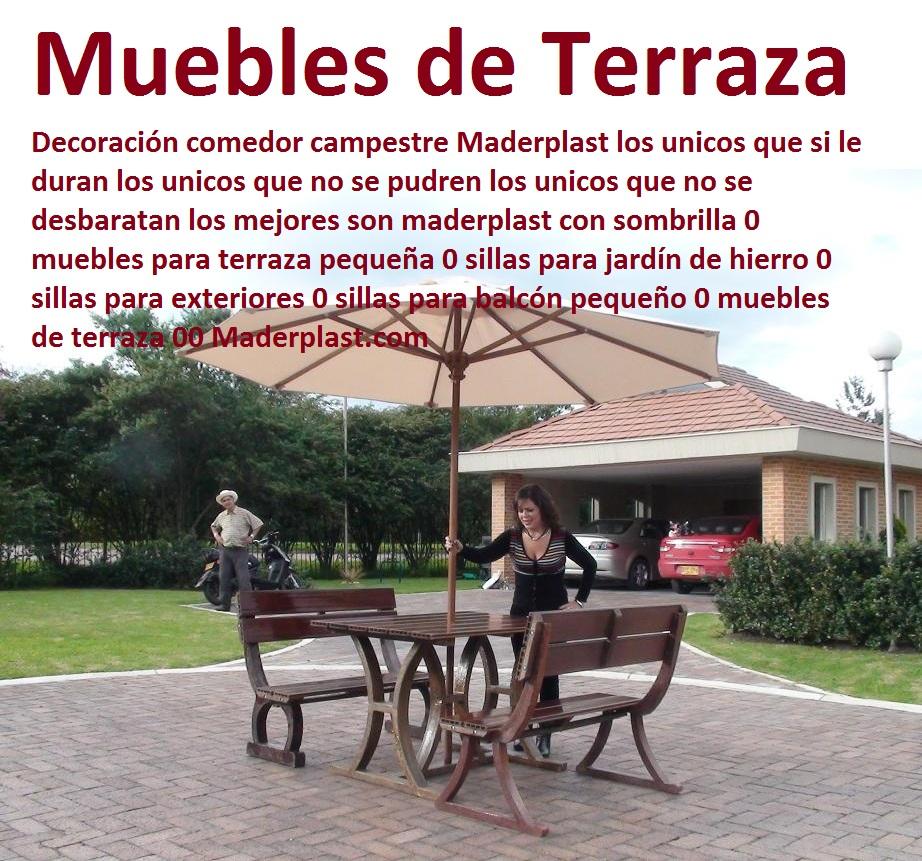 Muebles De Exterior Para Tu Terraza Y Jardin - Muebles Para Terrazas ...
