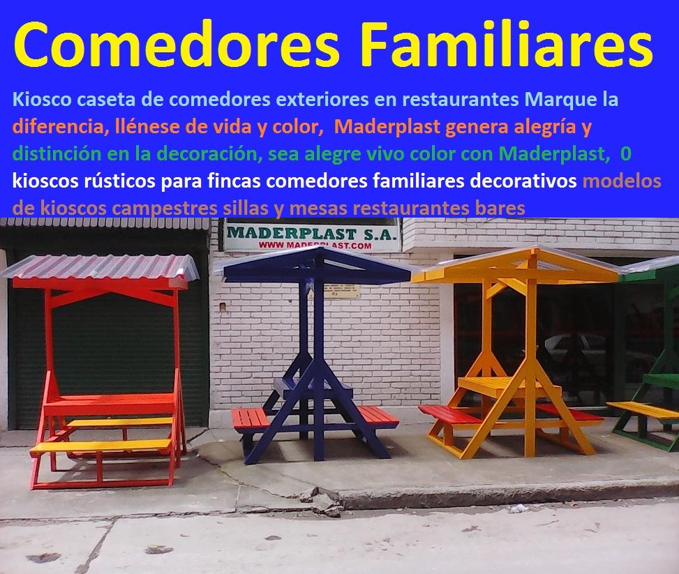 17 mesa y sillas mobiliario para exteriores pl sticos