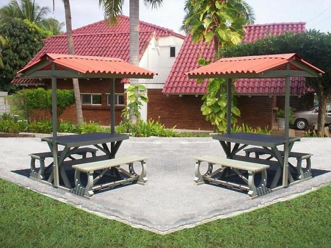 30 muebles campestres exteriores interiores mobiliarios for Decoracion para patios exteriores