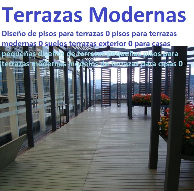 20 pisos decorativos madera pl stica finas maderas de for Modelos de terrazas modernas
