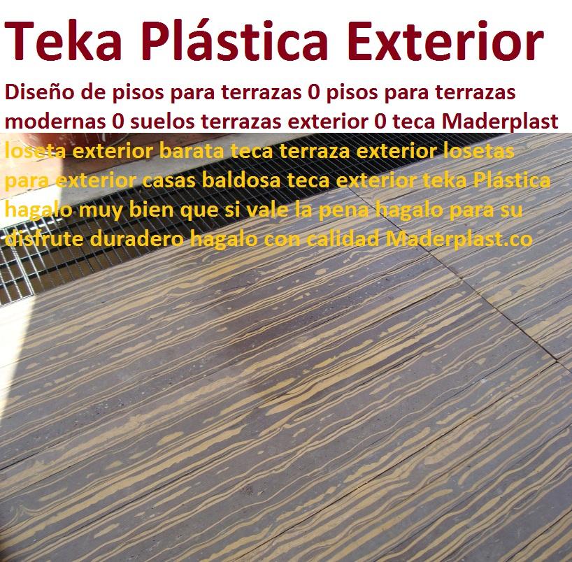 20 pisos decorativos 0 maderas pl sticas 0 finas maderas - Suelos para exterior baratos ...