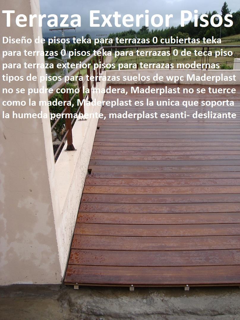 diseo de pisos teka para terrazas cubiertas teka para terrazas pisos teka para terrazas