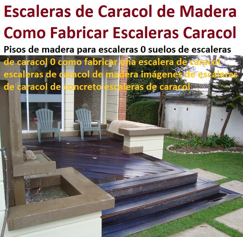Escaleras de caracol de madera para interiores escalera en u peldao de madera de caracol - Fabricar escalera de madera ...