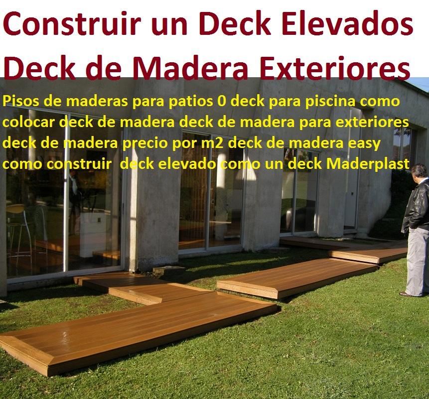 20 pisos decorativos madera pl stica finas maderas de for Como construir un kiosco de madera
