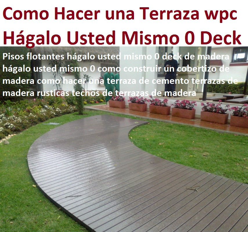 for Como construir una terraza de madera